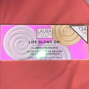 Laura Geller life glows on! Illuminated trio